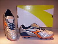 Diadora Clasico MD PU scarpe da calcio uomo argento shoes men sportive 41 42 43