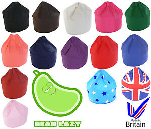 Kids / Child Size 100% Cotton Bean Bag Seat With Bean Filling from Bean Lazy
