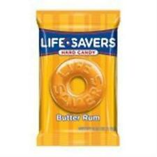 Lifesavers Butter Rum Hard Candy Individually Wrapped Life Savers US SELLER New