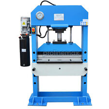 "Electric 50 Ton Hydraulic Press Brake Bender Bending 30.5 Length  x 13/64"" Gauge"