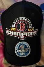 Boston Red Sox 2007 World Series Champions New Era Hat New with Sticker