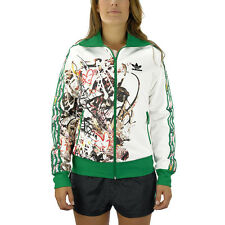 Adidas X TOPSHOP Women's Allover Graphic Track Top M32360 NEW!