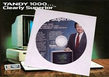 2* TANDY 1000 Computer Manuals Guide to Tandy 1000 & Service Manual 675 Pgs  PDF