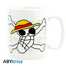 One Piece XL Tasse - Skull drawn by Luffy NEU & OVP