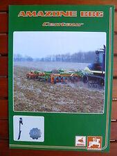 AMAZONE BBG Centaur - Grubber - Prospekt Brochure 08.2001 (0616