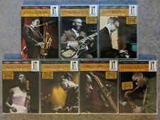 New Jazz Icons Dvd Lot Live Concert Duke Ellington Coltrane Brubeck Gordon Rare