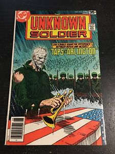 Unknown Soldier#216 Awesome Condition 8.0(1978) Joe Kubert Cover!!