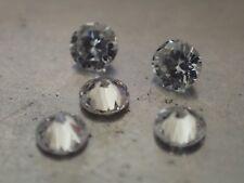 5 Diamants Naturels Ronds - 2.20mm - VVS/E - SUPERBES !!!
