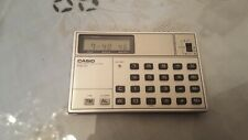 Vintage CASIO PW-81 Electronic Slim Calculator Quartz Watch Collectible~80 Japan