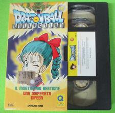 VHS film DRAGONBALL COLLECTION 12 Il mostruoso bestione Disperata (F15) no dvd