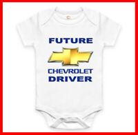 Rare New Future Jeep Driver Auto Baby Clothes Funny Bodysuit Romper One Piece