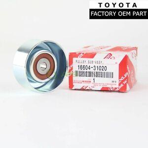 GENUINE TOYOTA TACOMA LEXUS ES350 RX350 DRIVE BELT IDLER PULLEY OEM 16604-31020