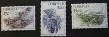 Bridges stamps, 1986, Faroe Islands, SG ref: 137-139, 3 stamp set, MNH