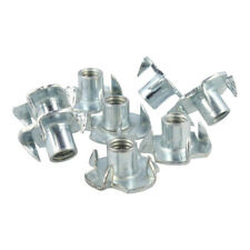 T Nuts Four Pronged Tee Nuts M4 M5 M6 M8 Zinc Plated Blind Nut Captive