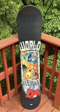 Vintage Rare World Industries Flame Boy 134 CM Snowboard