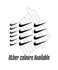 15 x Nike swoosh vinyl sticker decal iphone car mini small logo case 3cm 5cm