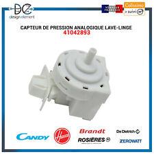 Capteur de pression analogique Lave-linge Candy Hoover Rosieres - 41042893