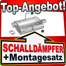 Mittelschalldämpfer Auspuff  Peugeot 406 1.6 1.8  Bj.bis 12//2000 Montagesatz