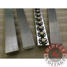 4PCS 30cm High Power LED aluminum Heatsink 300mm*25mm*12mm for 1W,3W,5W LED