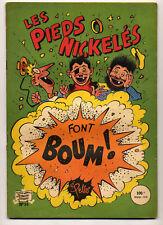 Pieds Nickelés n°34 Font boum ! Pellos Ed. SPE TBE
