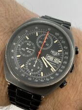 Vintage Heuer PASADENA gents Automatic Chronograph Day Date Watch GWO