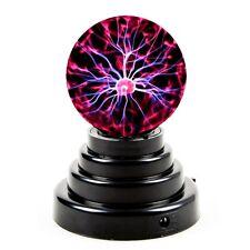 USB Plasma Ball Sphere Lightning Lamp Desktop Light Science Kid Office Party USA