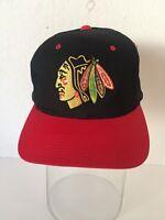 VTG Chicago Blackhawks Sports Specialties Snapback Hat 90s Center Ice NHL Cap
