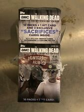 2018 Topps The Walking Dead Hunters & The Hunted Trading Cards Box, No Hit Pack