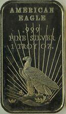 AMERICAN EAGLE, World Wide Mint, WWM-109V, 1981, 1oz .999 fine silver bar