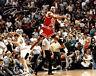 Michael Jordan Shot over Ehlo  W/ Autograph Reprint 8x10 Photo Reprint Iconic