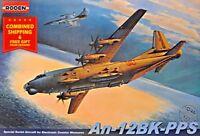 Roden 046 - 1/72 - Antonov AN-12BK-PPS, Soviet Air Force, Soviet airplane USSR