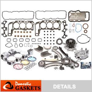 "05-12 Jeep Liberty Dodge Durango Dakota 3.7L Engine Rebuilding Kit ""K"" Graphite"