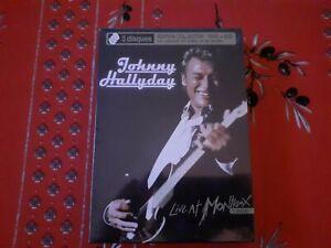 Johnny Hallyday Live At Montreux 2CD+1DVD Edition Collector Limitée 2008 Scéllé
