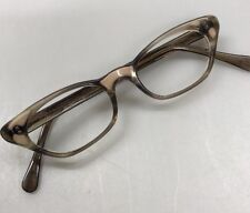 926f00ac4a Vintage Cat Eye Brown Pink Plastic Women s Eyeglasses Frames by Lorelei 5  ...
