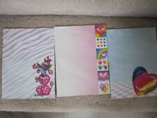 Lisa Frank Fun Pack Stickers Stationery Note Card Ruler Clip 90's Vintage