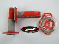 Pro Grip 801 rot Griffe Kabel Motocross Enduro CRF450 CRF250 CR250 CR125 CR85
