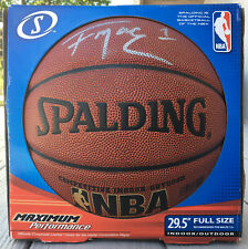 Spalding NBA Zi/O Excel Basketball Tracy McGrady Unconfirmed Autograph Signed?