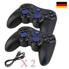 2pcs  Bluetooth Controller für PS3 Playstation 3 Dual Vibration wireless Gamepad