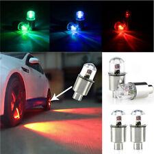 4x Car Auto Wheel Tire Tyre Air Valve Stem LED Light Caps Car Accessories Decor