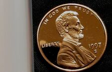 1997-S San Francisco Mint Lincoln Memorial Cent Proof