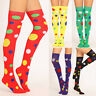 Fashion Women Sexy Thigh High Over The Knee Socks Colored Dots Long Socks New