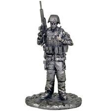 *German NATO soldier* Tin toy soldiers. 54mm miniature figurine. metal sculpture