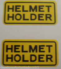HONDA CBX CB XL TL XR CX VF VT GL CBR SS G5 DREAM ST DAX HELMET HOLDER DECALS