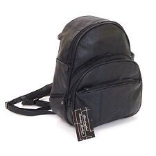 Leather Backpack Purse Mid Size & Convertible into single strap sling Bag or Bac