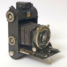 F91120~ Vintage 1933 Voigtlander Virtus 120 Roll Film Camera – Working