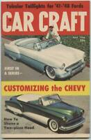 May 1956 Car Craft Volume 4 Number 1 Hot Rod Magazine Custom Ragtop Chevys