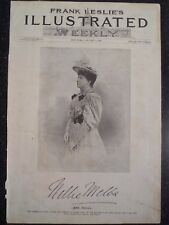 Nellie Melba Australian Soprano Metropolitan Opera New York City Leslie's 1894
