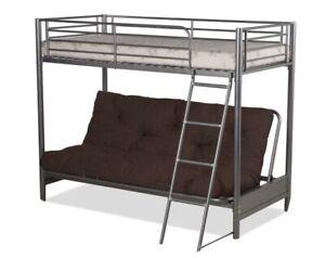 Humza Amani Filton Futon Double Bunk Bed