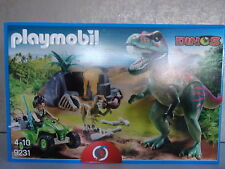 PLAYMOBIL dinosaures 9231 T-Rex Attaque-NOUVEAU & NEUF dans sa boîte