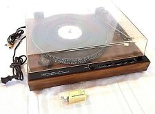 REALISTIC LAB-440 TURNTABLE DIRECT DRIVE RECORD PLAYER FULLY AUTOMATIC WORKS